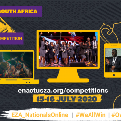 Pre – Event Press Release: 2020 Enactus South Africa Virtual National Competition