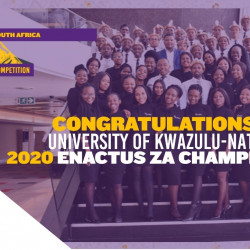 Post – Event Press Release: 2020 Enactus South Africa Virtual National Competition